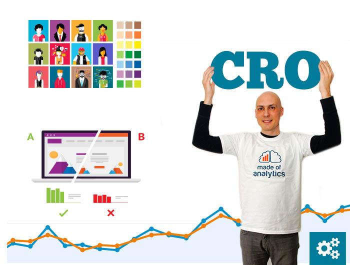 Consultor CRO ayudando a empresas a optimizar sus conversiones