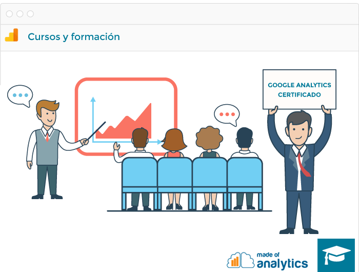 Cursos y formación de Google Analytics por un ex Googler