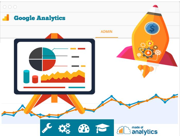 Servicios de implementación, configuración, análisis y formación en la herramienta Google Analytics