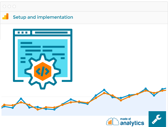 Google Analytics setup and implementation services