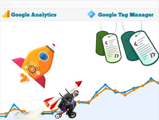 Google Analytics and Tag Manager implementations will speed up your performance and efficiency