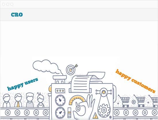 Conversion de usuarios en felices clientes mediante estrategias de optimizacion web