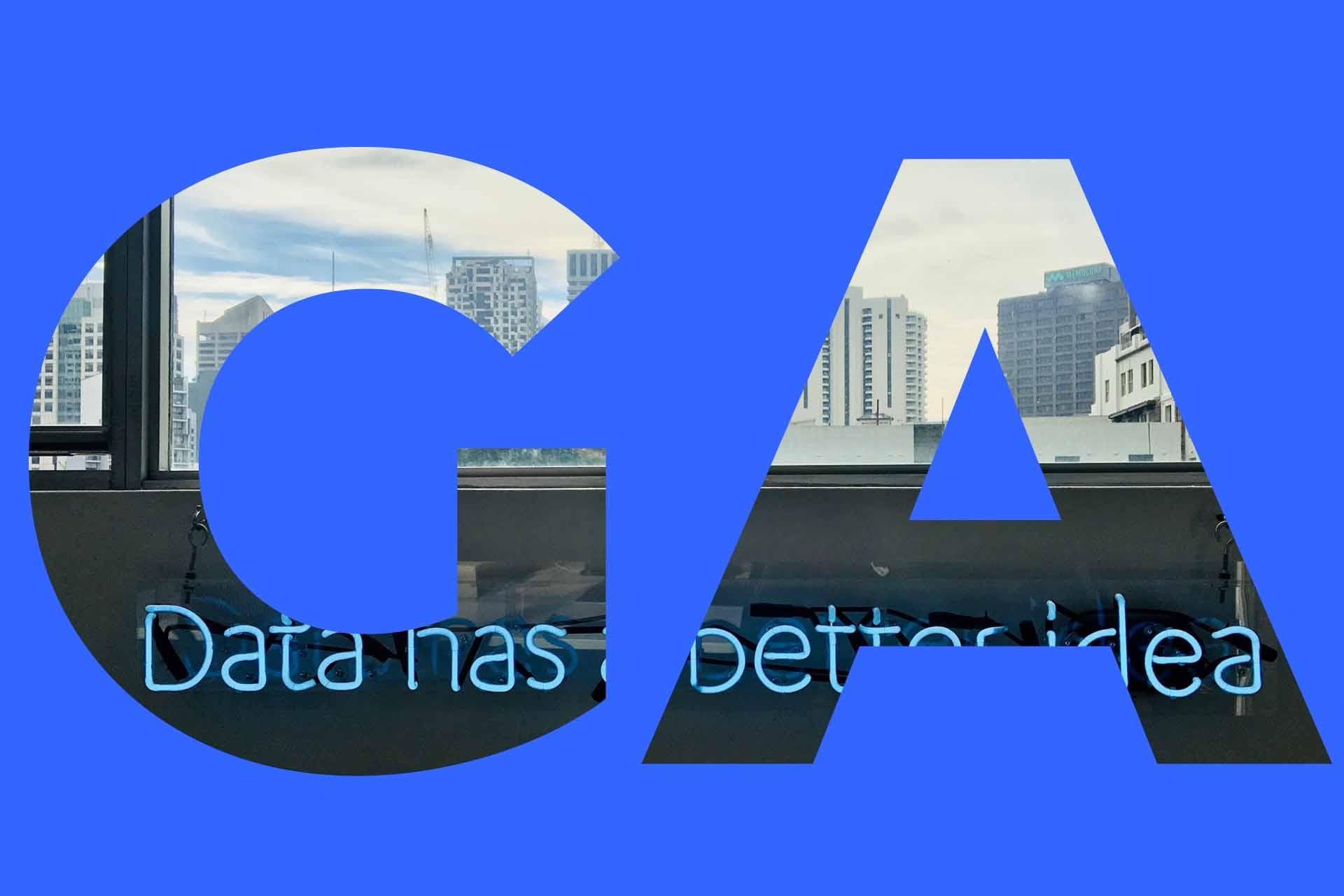 Google Analytics data visualization services